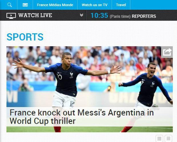 Báo Pháp ngỡ ngàng, truyền thông Argentina chết lặng sau kịch bản điên rồ ở nước Nga - Ảnh 2.