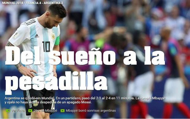 Báo Pháp ngỡ ngàng, truyền thông Argentina chết lặng sau kịch bản điên rồ ở nước Nga - Ảnh 4.