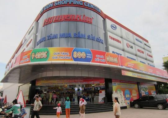Phong tỏa tài khoản ngân hàng của điện máy Nguyễn Kim - Ảnh 1.