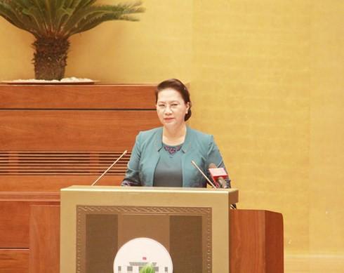 Chủ tịch Quốc hội dự Hội nghị quán triệt Nghị quyết Trung ương 7 - Ảnh 1.
