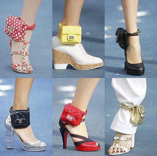 Xu hướng mới nhất trong làng thời trang cao cấp: Vòng đeo chân có thể giữ điện thoại của bạn! - Ảnh 2.