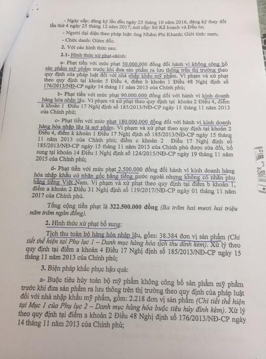 Mumuso Việt Nam từng bị phạt hơn 322 triệu vì kinh doanh hàng lậu - Ảnh 1.