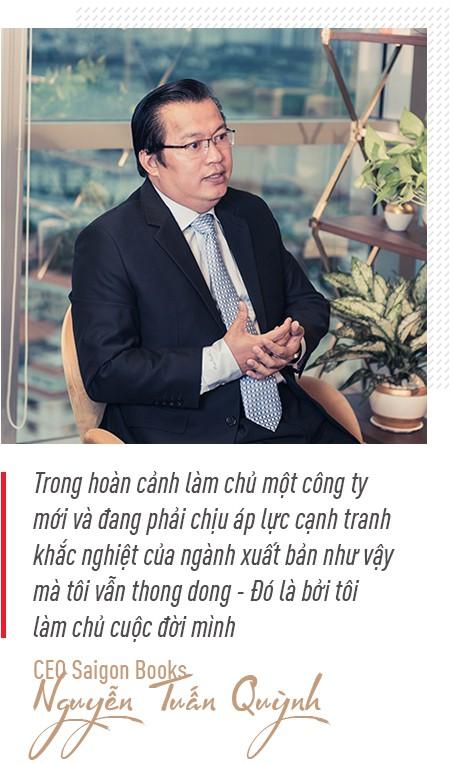 CEO Nguyễn Tuấn Quỳnh: Saigon Books giúp tôi làm được điều mình yêu thích, còn đầu tư mới là để tìm kiếm lợi nhuận  - Ảnh 3.