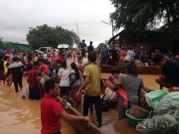 Vỡ đập thủy điện ở Lào khiến hàng trăm người mất tích - Ảnh 1.