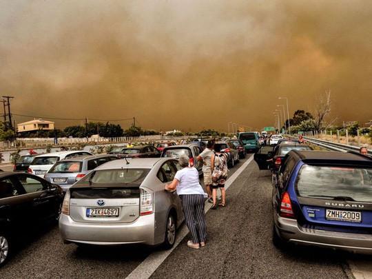 Cháy rừng Hy Lạp: Hàng chục người vượt không nổi biển lửa, chết gục trong sân nhà - Ảnh 4.