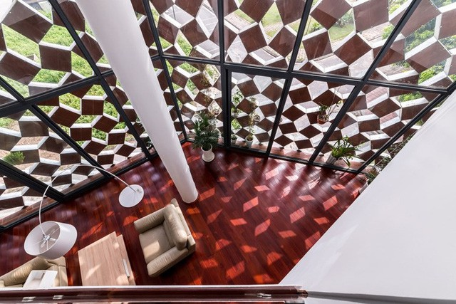 Những căn nhà ống đẹp đến từng centimet nổi bật giữa phố nhỏ Hà Nội - Ảnh 9.