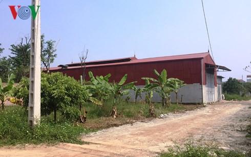 Hàng loạt sai phạm về đất đai, trật tự xây dựng ở huyện Hoài Đức - Ảnh 1.