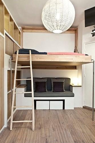 Ý tưởng kiến trúc hoàn hảo cho phòng ngủ nhỏ hẹp - Ảnh 14.