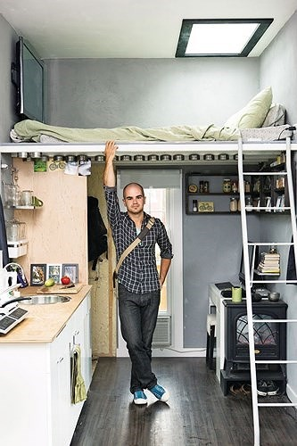 Ý tưởng kiến trúc hoàn hảo cho phòng ngủ nhỏ hẹp - Ảnh 4.