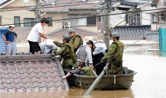 Mưa lũ Nhật Bản: Chuyện đau lòng từ ngôi trường chỉ có 6 học sinh - Ảnh 4.