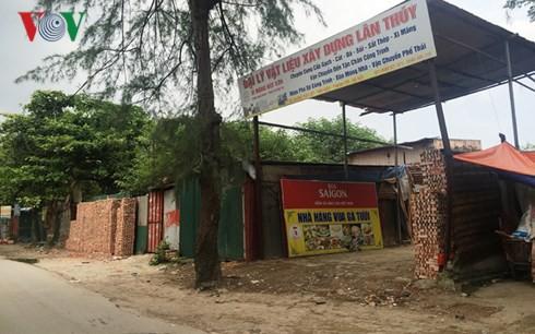 Hàng nghìn m2 đất công ở Thanh Trì bị sử dụng sai mục đích - Ảnh 1.