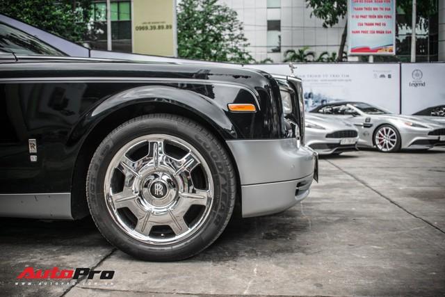 Rolls-Royce Phantom EWB bí ẩn của ông chủ cà phê Trung Nguyên xuất hiện tại Sài Gòn - Ảnh 6.