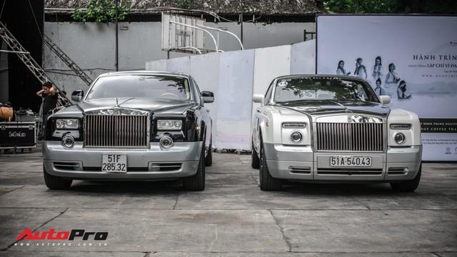 Rolls-Royce Phantom EWB bí ẩn của ông chủ cà phê Trung Nguyên xuất hiện tại Sài Gòn - Ảnh 8.