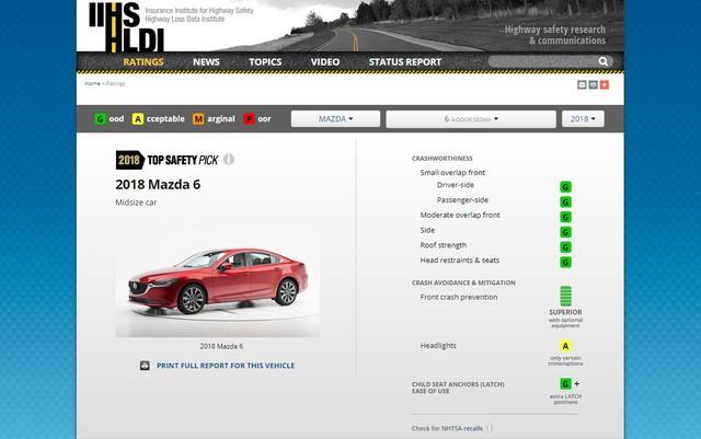 Mazda CX-5 an toàn hơn cả Mazda6 - Ảnh 1.