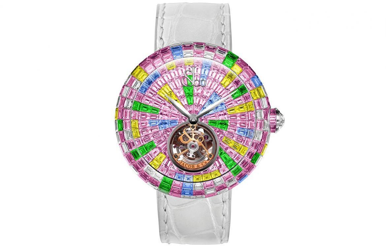 Ngắm chiếc đồng hồ tourbillion rực rỡ  nhất của Jacob & Co: Mê hoặc từ ánh nhìn đầu tiên - Ảnh 1.
