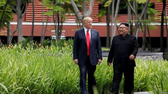 Tổng thống Donald Trump: Ông Kim Jong-un thích tôi - Ảnh 1.