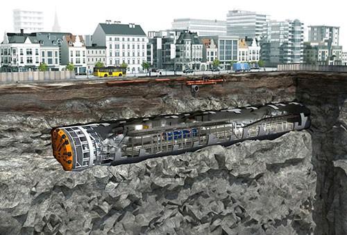 """Metro tỷ USD ở Việt Nam dùng công nghệ đào hầm, """"chinh phục"""" lòng đất như thế nào? - Ảnh 1."""