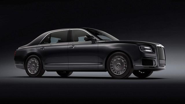 Hãng sản xuất ô tô cho Putin tung xe mới siêu sang như Rolls-Royce - Ảnh 1.