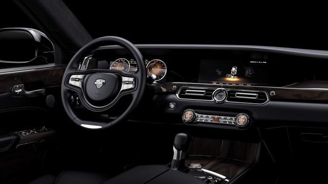 Hãng sản xuất ô tô cho Putin tung xe mới siêu sang như Rolls-Royce - Ảnh 3.