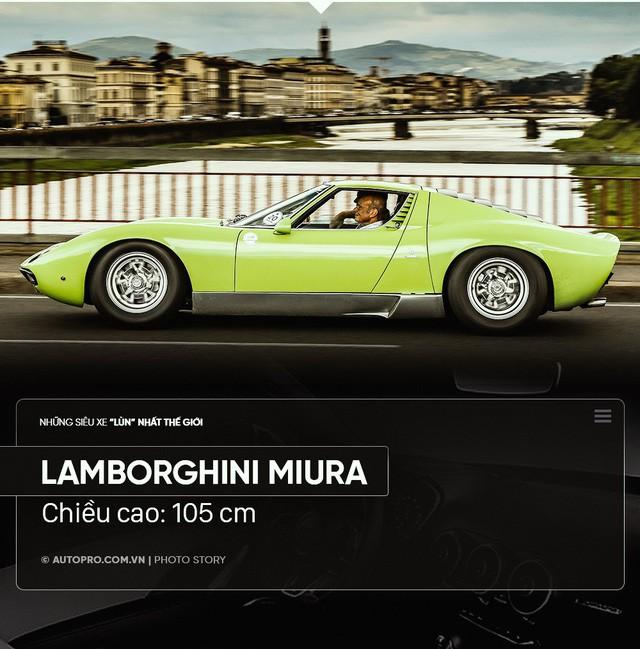 Điểm danh xe siêu lùn: Thấp nhất chỉ hai gang tay - Ảnh 8.