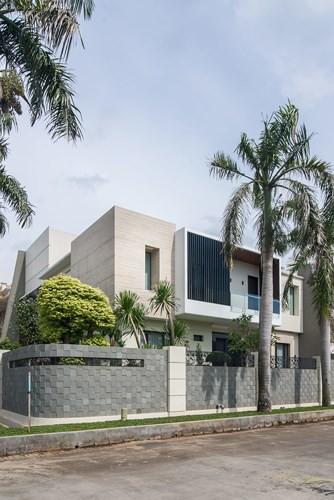 Mẫu kiến trúc nhà 2 tầng đẹp tân tiến và sang trọng - Ảnh 9.