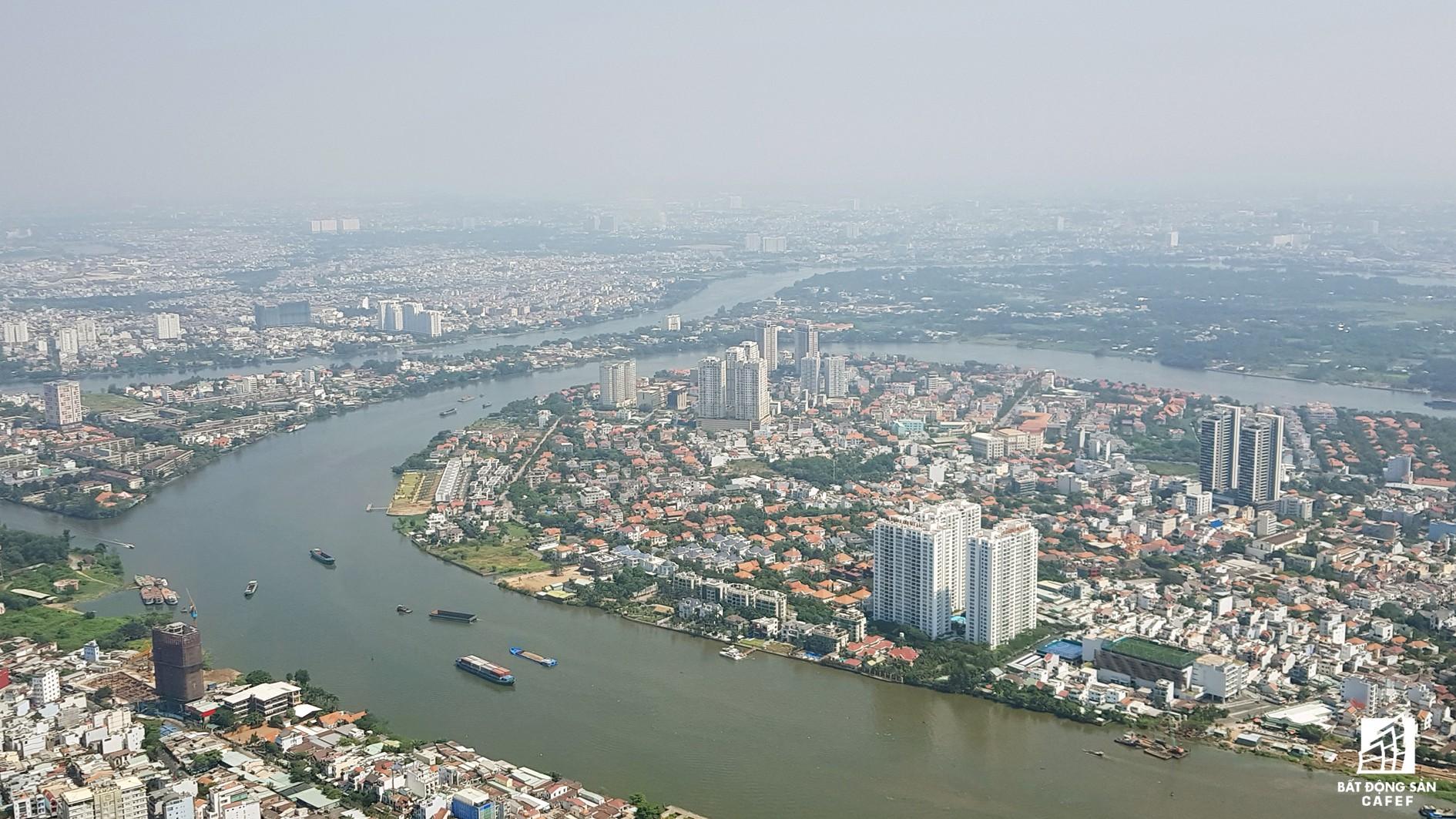 Toàn cảnh đô thị trung tâm Sài Gòn nhìn từ đỉnh tòa nhà cao nhất Việt Nam - Ảnh 10.