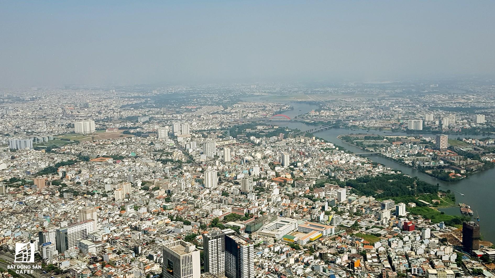 Toàn cảnh đô thị trung tâm Sài Gòn nhìn từ đỉnh tòa nhà cao nhất Việt Nam - Ảnh 11.