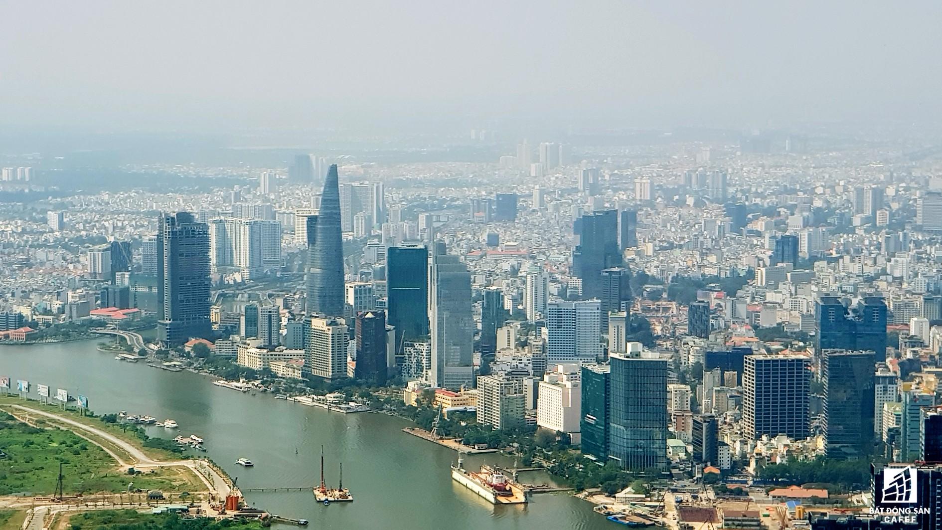Toàn cảnh đô thị trung tâm Sài Gòn nhìn từ đỉnh tòa nhà cao nhất Việt Nam - Ảnh 13.