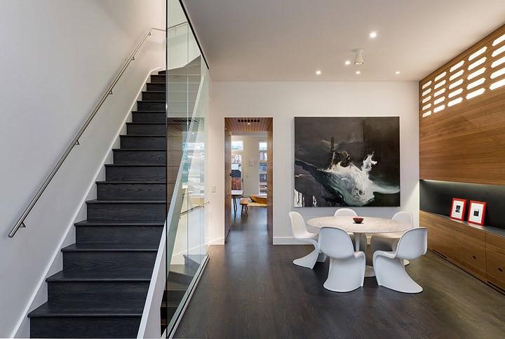 Ngôi nhà đẹp hiện đại, phá cách của gia đình trẻ - Ảnh 3.