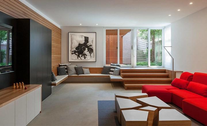 Ngôi nhà đẹp hiện đại, phá cách của gia đình trẻ - Ảnh 4.