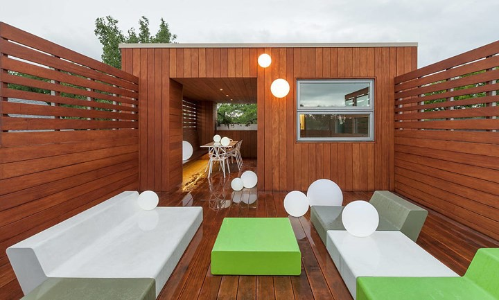 Ngôi nhà đẹp hiện đại, phá cách của gia đình trẻ - Ảnh 7.