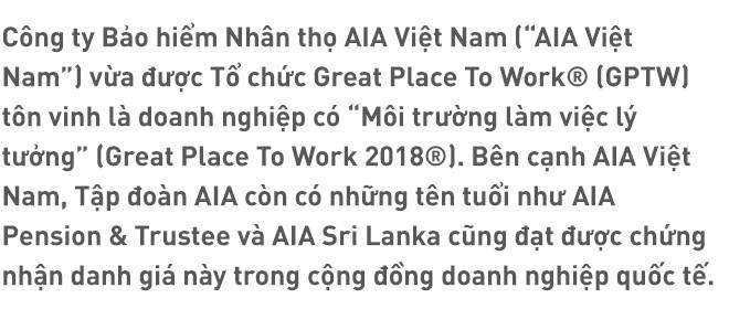 AIA Việt Nam – Môi trường làm việc lý tưởng - Ảnh 1.