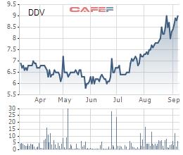 Cổ phiếu tăng mạnh, XNK Quảng Bình tiếp tục muốn thoái bớt vốn tại DAP Vinachem (DDV) - Ảnh 1.