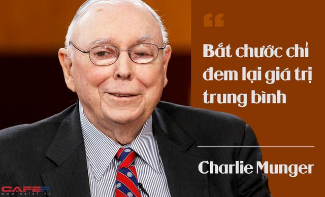 Charlie Munger khẳng định: Sự bắt chước chỉ đem lại giá trị trung bình! - Ảnh 2.