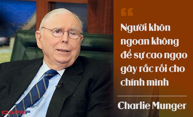 Charlie Munger khẳng định: Sự bắt chước chỉ đem lại giá trị trung bình! - Ảnh 3.