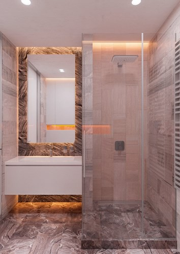 Thiết kế đèn âm tường giúp căn hộ trở nên lung linh - Ảnh 9.