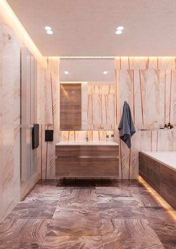 Thiết kế đèn âm tường giúp căn hộ trở nên lung linh - Ảnh 10.
