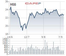 Vietcombank chào phân phối 53,4 triệu cổ phiếu MBB, giảm mật độ có xuống dưới 5% - Ảnh 1.