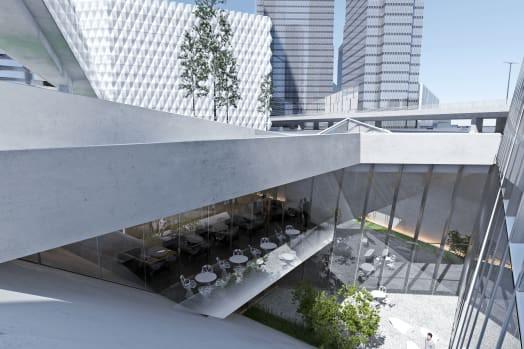 Tòa nhà siêu mỏng cao 404 m, diện tích chỉ 32 m2 sắp xuất hiện ở Nga - Ảnh 2.