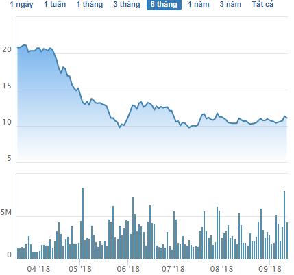 HSG giảm mạnh, em gái Phó TGĐ Tập đoàn Hoa Sen tranh thủ mua vào 5 triệu cổ phiếu - Ảnh 1.