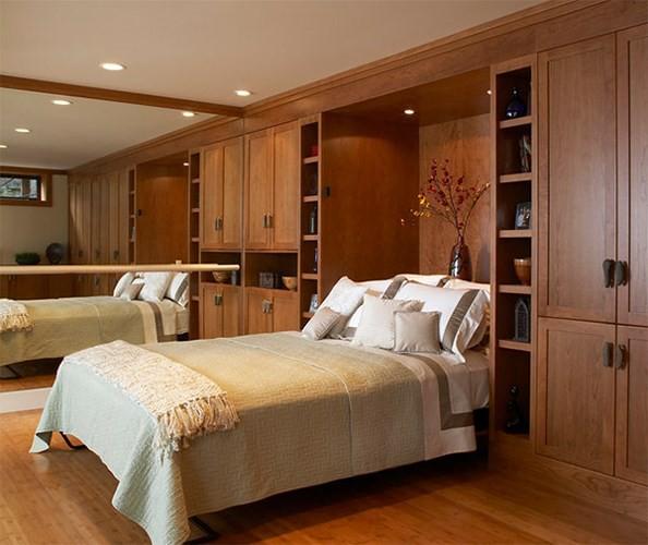 Thiết kế phòng ngủ có bên trong xe bằng gỗ ấm áp - Ảnh 8.