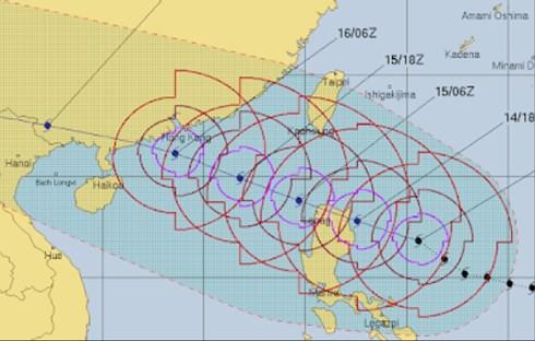 Trung Quốc kêu gọi ngư dân và tàu cá trở lại bờ trước khi bão Mangkhut đổ bộ - Ảnh 1.