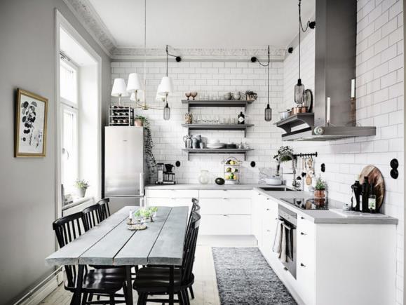 Căn hộ trắng đẹp đến từng milimet với phong cách Scandinavia - Ảnh 7.