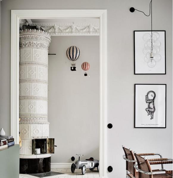 Căn hộ trắng đẹp đến từng milimet với phong cách Scandinavia - Ảnh 8.