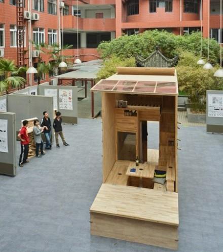 Căn nhà gỗ 7m2 siêu tiện nghi có thể có đi bất cứ đâu - Ảnh 1.
