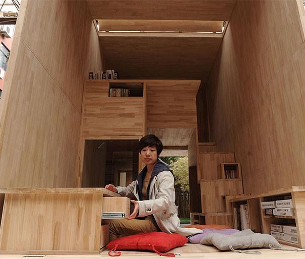 Căn nhà gỗ 7m2 siêu tiện nghi có thể có đi bất cứ đâu - Ảnh 5.