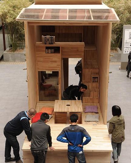Căn nhà gỗ 7m2 siêu tiện nghi có thể có đi bất cứ đâu - Ảnh 8.