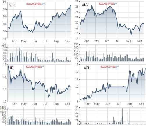 """Cổ phiếu thủy sản quay về những """"tháng năm rực rỡ""""?"""