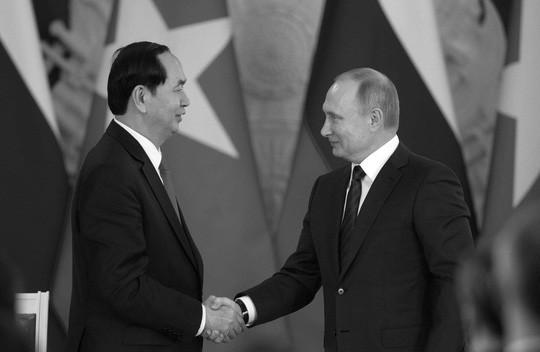 Tổng thống Putin: Chủ tịch nước Trần Đại Quang xứng đáng với sự kính trọng - Ảnh 1.