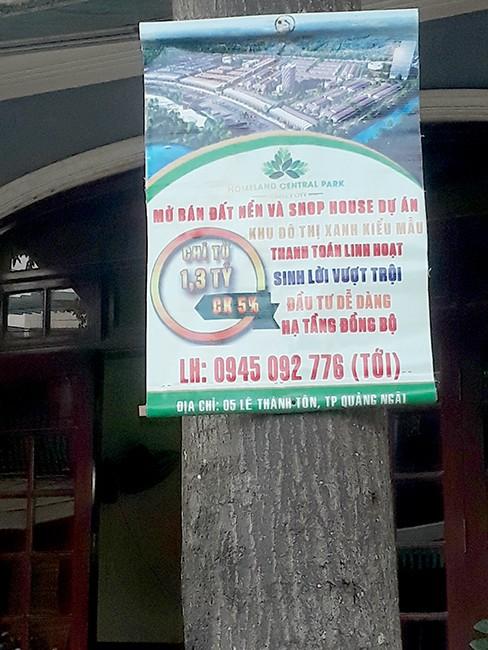 Bất động sản Quảng Ngãi bắt đầu nở rộ - Ảnh 2.